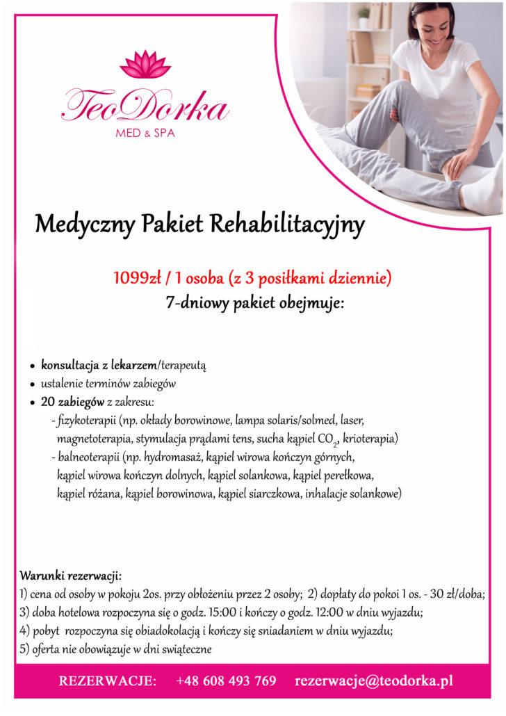 medyczny pakiet rehabilitacyjny